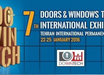 Tehran to Host Doors, Windows Exhibition