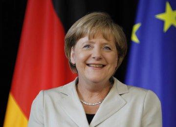 Merkel to Visit Iran