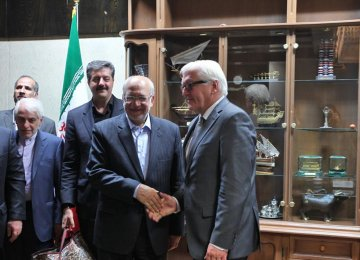 Berlin to Encourage Iran Investment