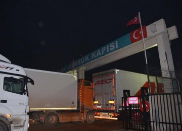 Imports from Turkey Down