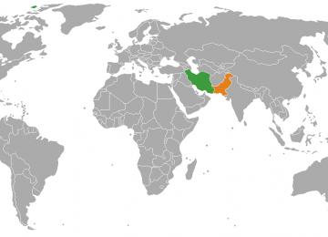 Pak Delegation in Sistan