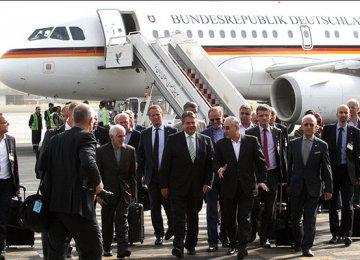 German Business Leaders in Isfahan