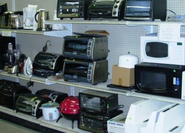 Home Appliances Hit by Imports