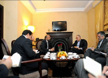 Afghan Security Chief Discusses Energy