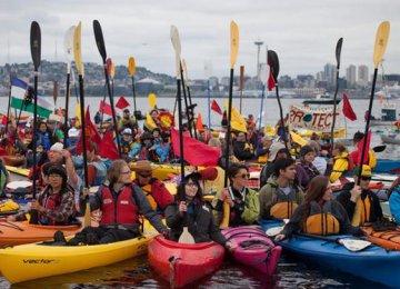 Environmentalists Deter Big Oil Adventure