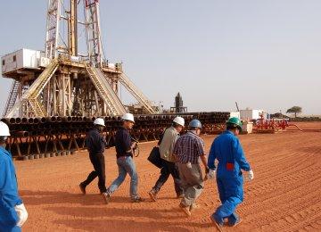 British Delegation Discusses Oil Ties
