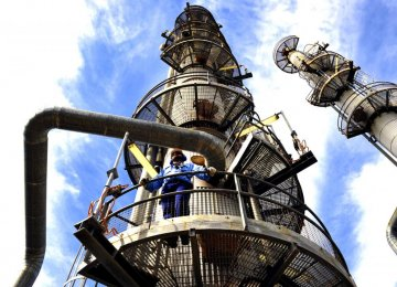 Chinese Funding 12 Petchem Projects