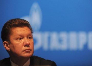European Energy Policy Shortsighted: Gazprom CEO