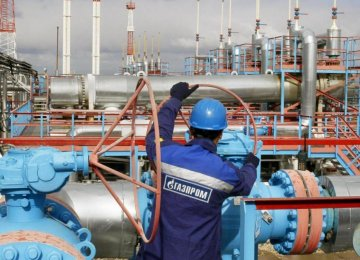 Gazprom Exports Up
