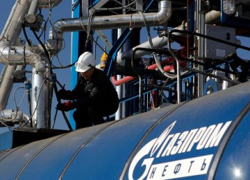 Gazprom Warns of Transit Risks
