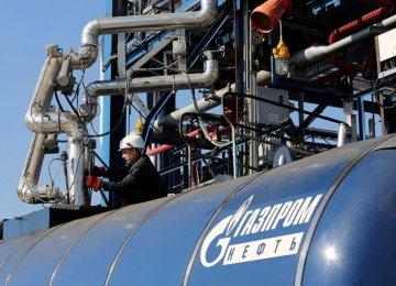Gazprom Gas to Last 5 Days