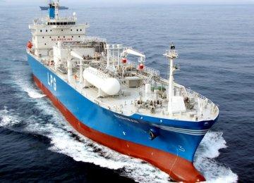 90% LPG Exported