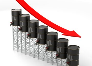 Sharp Decline in  Global Oil Prices