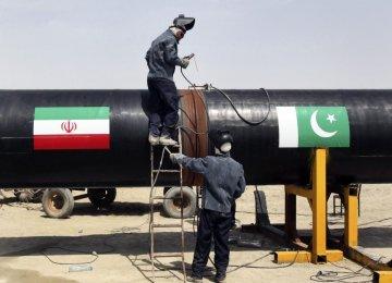 Tayyebnia, Pak Minister  Talk Energy at IMF/WB Meet