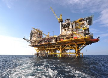 Installation of Oil Platform in SP