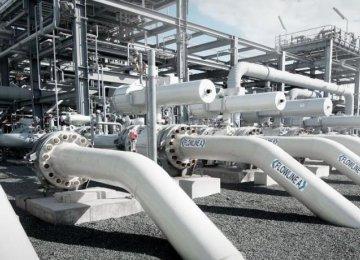 Gas Storage at Sarajeh