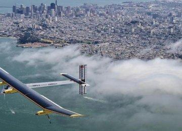 Solar Plane Takes Off on Record-Breaking Tour