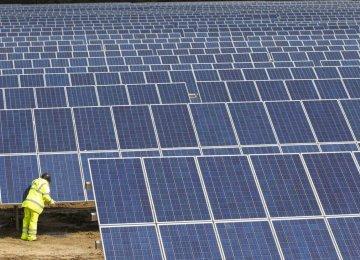 Zarand Solar Plant Operational