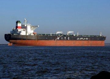 1st Supertanker Sails for Asia