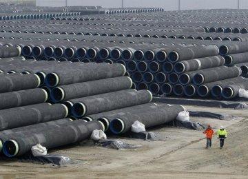 Talks With Turkey on Europe Gas Pipeline