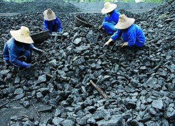 Ukraine Coal Output Down