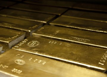 13 Tons of Gold Repatriated to Central Bank of Iran