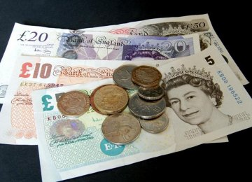 Sterling Climbs to 2-Month Peak