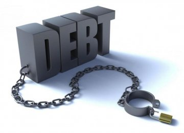 Gov't Debt Drops