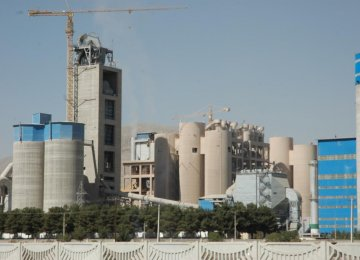 Tehran Leading Producer of Cement