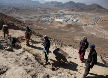 Afghan Mines:  Great Boon to Iran
