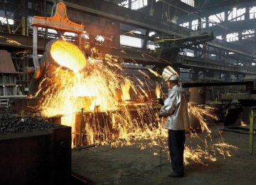 Mobarakeh Steel Group Production Up 9%