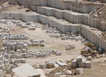 Stone Exports Earn $180m