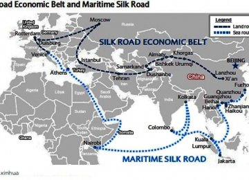 "Iran, China Embark on ""New Silk Road"""