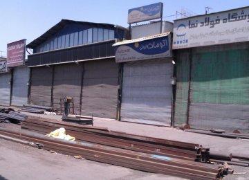 Steel Market in Doldrums