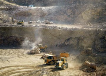 Kouhdom Mine to Produce 300 Kg of Gold p.a.
