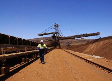 Iron Ore Production Up