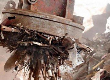 Scrap Iron Mirrors Slump in Steel Prices