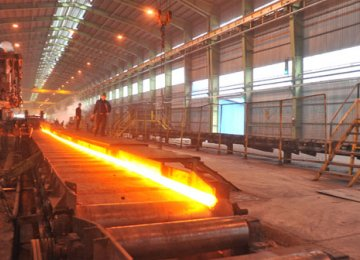 Crude Steel  Output  Growing