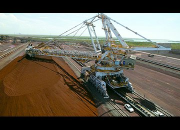 IME Features 100KT of Iron Ore