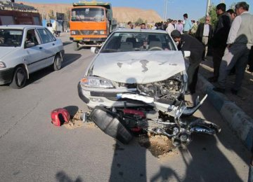 Isfahan Car Accident Rate Highest