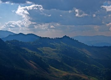 Mountains Also Deprived of Clean Air