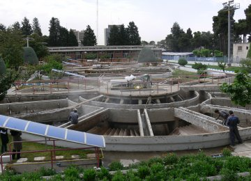 Tehran's Biggest Wastewater Treatment Plant Coming Up