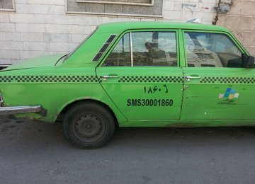 Paykan Cabs to be Phased Out