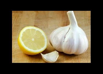 Garlic, Lemon Good for Heart