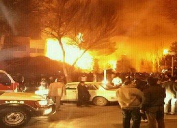 Hotel Abbasi on Fire