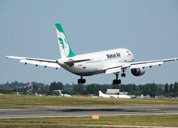 Mahan Air  to Beijing