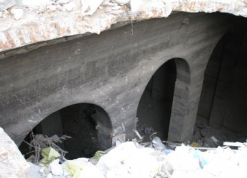 Qajar Reservoir Discovered Under City Streets