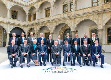 'Grexit' Fear Looms in G7 Talks