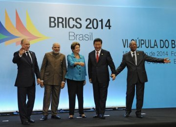 Call for Early Establishment of BRICS Bank