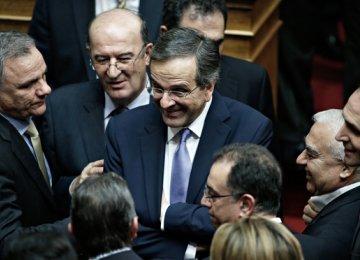 EU Approves Greece Bailout Extension